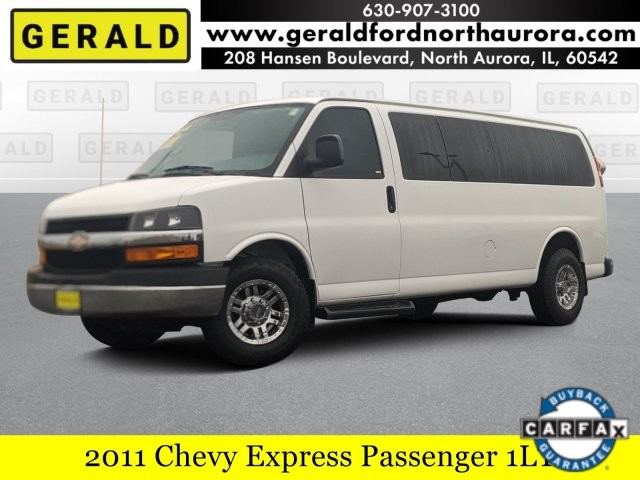 Pre-Owned 2011 Chevrolet Express Passenger 1LT
