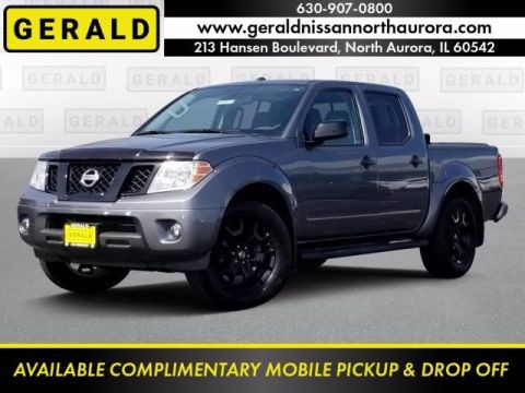 Pre-Owned 2018 Nissan Frontier PRO-4X Four Wheel Drive Short Bed