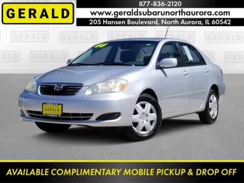 Pre-Owned 2006 Toyota Corolla S Front Wheel Drive Sedan