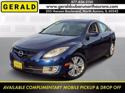 Pre-Owned 2010 Mazda6 GT Front Wheel Drive Sedan