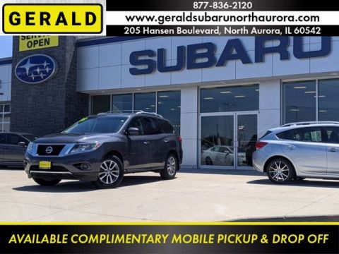 Pre-Owned 2013 Nissan Pathfinder SV Four Wheel Drive SUV