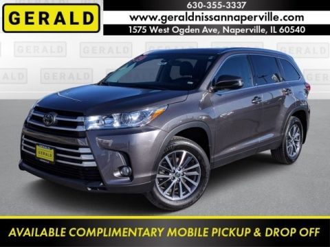 Pre-Owned 2019 Toyota Highlander XLE All Wheel Drive SUV