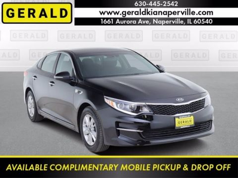 Certified Pre-Owned 2016 Kia Optima LX Front Wheel Drive Sedan