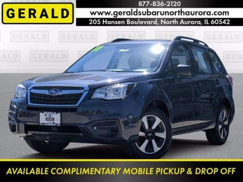 Pre-Owned 2017 Subaru Forester 2.5i All Wheel Drive SUV