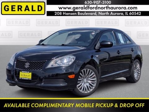 Pre-Owned 2011 Suzuki Kizashi SE Front Wheel Drive Sedan