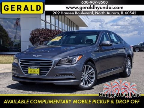 Pre-Owned 2017 Genesis G80 3.8L All Wheel Drive Sedan