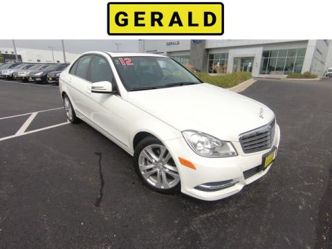 Pre-Owned 2012 Mercedes-Benz C-Class C 300 Luxury